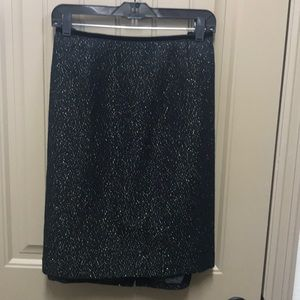 Talbots Blank skirt with Gold Thread - 16WP